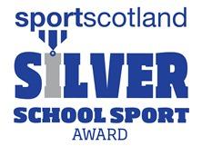 SportsScotland Silver Award Icon